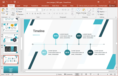 Powerpoint Template File Types