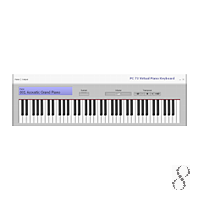 PC 73 Virtual Piano Keyboard 1